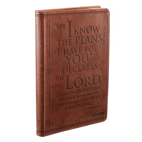 I know the Plans Classic LuxLeather Journal - Jeremiah 29:1 ()