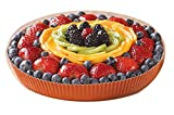 Novacart Optima Round Paper Baking Mold (540, 7-1/2'' Bottom Diameter x 1-1/8'' High)