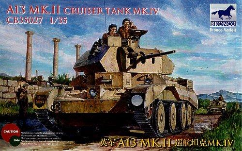 - Bronco CB35027-1/35A13Cruiser Tank Mk. IV
