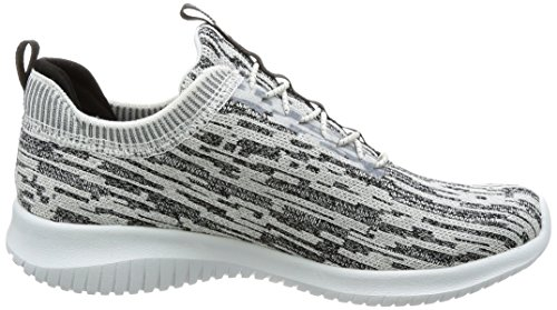White Flex Skechers Bright Ultra Mujer Horizon para Black Entrenadores Blanco qZHFCZa