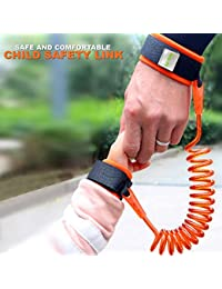 Anti Lost Wrist Link Safety Wristband for Toddlers, Babies & Kids (Orange) by Ecobaby BOBEBE Online Baby Store From New York to Miami and Los Angeles
