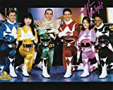 Amy Jo Johnson Autograph 8 x 10 Photo Power Rangers