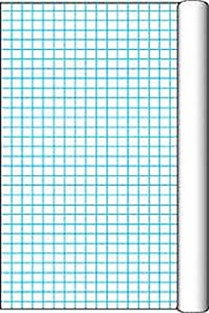 AmazonCom Pacon Grid Roll With  Inch Grid Rule    Inch X