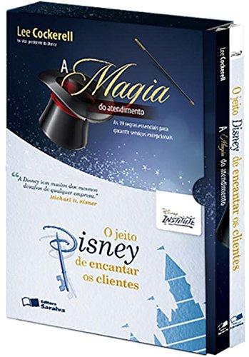 A Magia do Atendimento + O Jeito Disney de Encantar Clientes - Caixa Disney