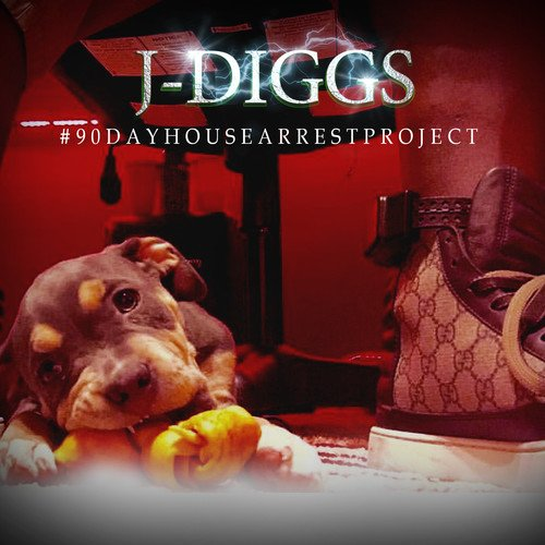 CD : J. Diggs - #90dayhousearrestproject (Digipack Packaging)