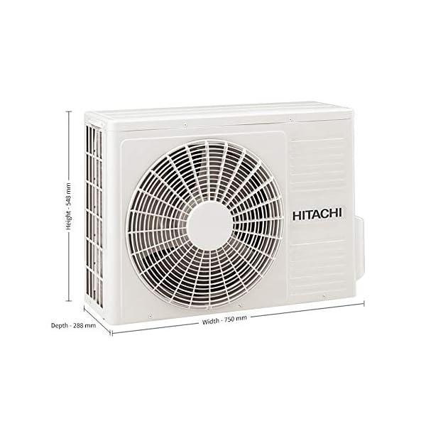 Hitachi 1.0 Ton 5 Star Inverter Split AC (Copper RSFG512HDEA Gold)