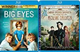 Eyes of Director Visionary Tim Burton 2 Blu Ray Miss Peregrine's Home for Peculiar Children Fantasy + Big Eyes film Double Feature Bundle
