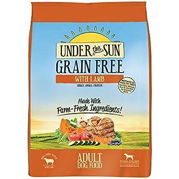Under the Sun Grain Free Dog Food - Lamb - 25lb