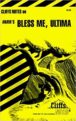 Book Bless Me, Ultima (Cliffs Notes) by Ruben O. Martinez (1995-06-23)