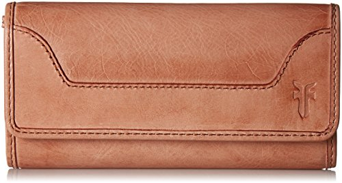 Melissa Continental Snap Leather Wallet Wallet, Dusty Rose, One Size by FRYE
