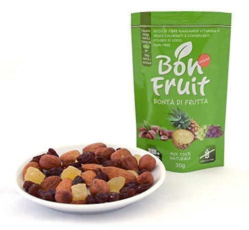 20 opinioni per Bon Fruit- 20 buste da 30g di frutta secca e disidratata