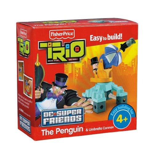 Fisher-Price TRIO DC Super Friends - Penguin (Construction Trio Set)