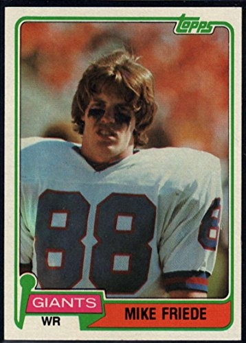 Football NFL 1981 Topps #74 Mike Friede NY Giants ()