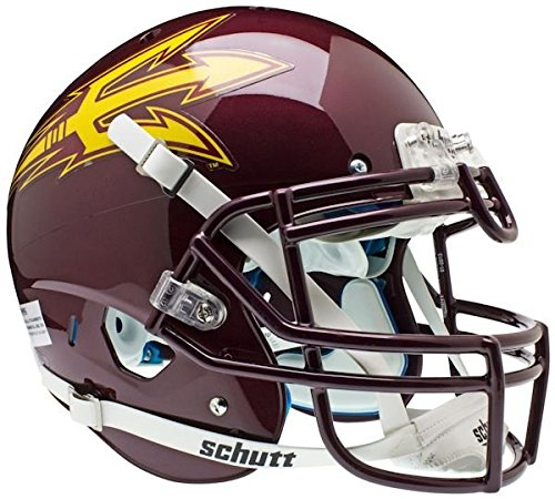 ARIZONA STATE SUN DEVILS Schutt AiR XP Full-Size AUTHENTIC Football Helmet ASU (MAROON)