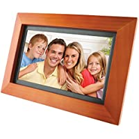 GPX PF903CW 9-Inch Digital Photo Frame (Walnut)