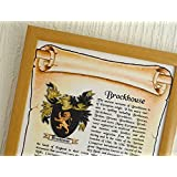 FAMILY NAME AND COAT OF ARMS - Framed - Ideal Gift by NWM-Gifts