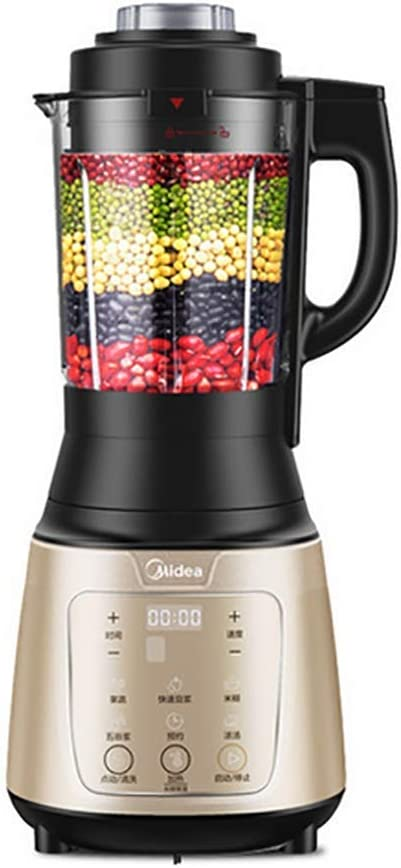 JXWWNZ Blender, Smoothie Blender 800W for Ice Crushing with (36000 r/min) and 7-Programs Setting, 62 OZ Glass Jar & 8 Titanium Alloy Blades & Stainless Steel Housing Base.