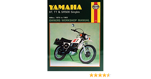 Amazon Com Haynes Yamaha Xt Tt Sr500 Manual M342 Automotive