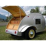 Build your own 8' Teardrop camper trailer (DIY Plans) Easy to build!