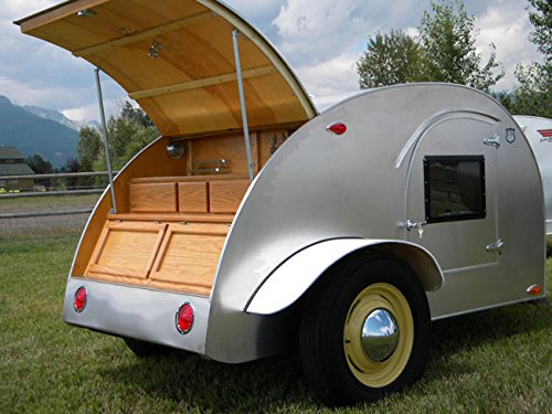 Build your own 8' Teardrop camper trailer (DIY Plans) Easy to build!