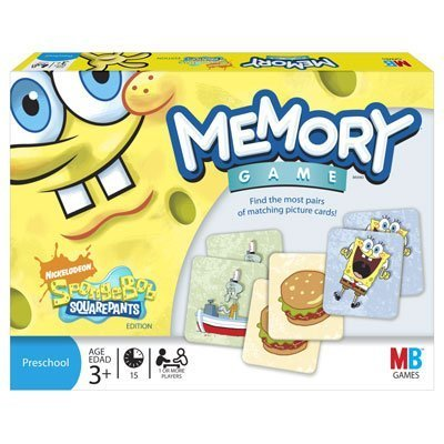 SpongeBob SquarePants: Memory Game (Spongebob Matching Game)