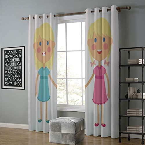 Biederlack Blue Blanket - Jinguizi Blackout Curtain Kids 96 by 96 Inch Ba Shower,s Themed Bathing Babies Announcement Themed Composition in Blue,Blue Pink Pale Blue