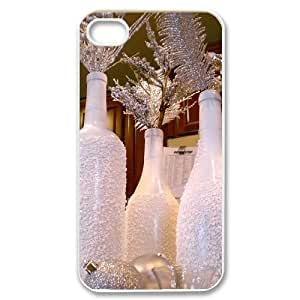 Personalized Cover Case with Hard Shell Protection for Iphone 4,4S case with Church lxa#490068