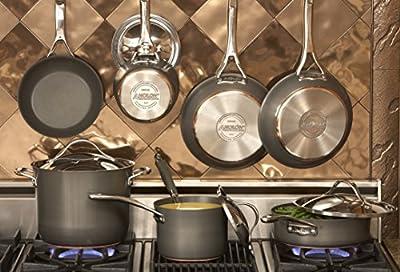 Anolon Nouvelle Copper Hard Anodized Nonstick Cookware