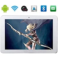 Lightinthebox Phablet M66 10.1 Android 4.4 3G Phone Tablet (MTK8382 Quad Core,GPS,WiFi,RAM 2G/ROM 16G,Dual SIM) Color=White