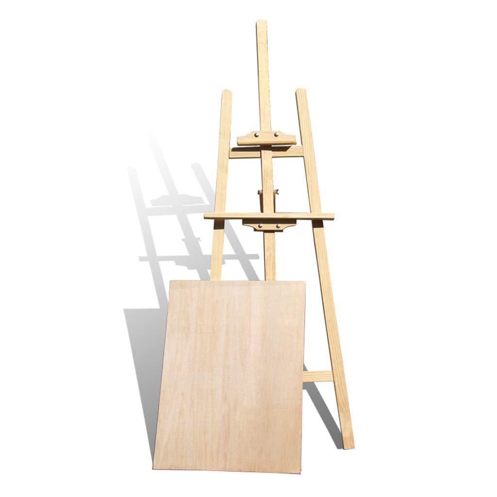 イーゼル1.45メートル純木イーゼル画板セット木製スケッチスケッチボード絵画ディスプレイスタンド   B07MYX8YP3