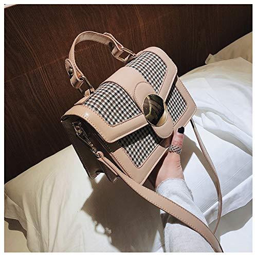 Pour Khaki En Femme Black Houyazhan À color Pu Sac Cuir Bandoulière Pq0vYwOt