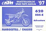 320415 1997 KTM 620 EGS-E Adventure Chassis Spare Parts Manual