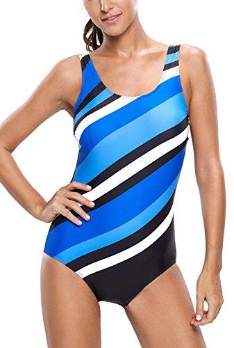 Dokotoo Stripes Bathing Swimsuit Monokini