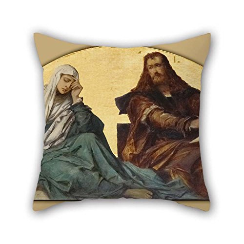 s Makart - Albrecht D??rer Throw Pillow Covers Of 18 X 18 Inches / 45 By 45 Cm Decoration Gift For Home Theater Floor Christmas Girls Him Lounge (two Sides) (Albrecht D ? Rer Painting)