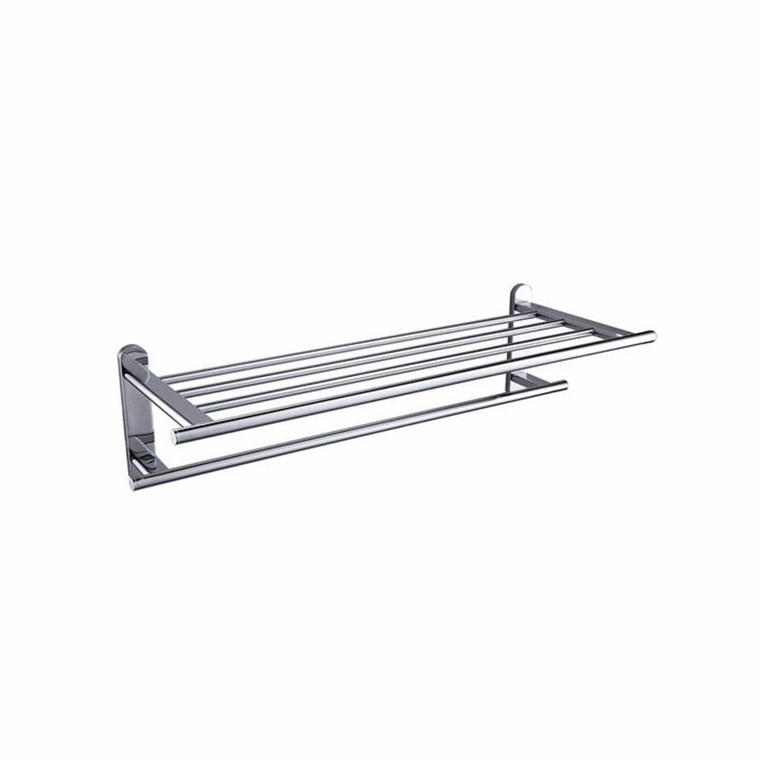 LAONA Contemporary chrome plated oval base copper stainless steel bathroom pendant, towel bar, toilet brush rack,Towel rack