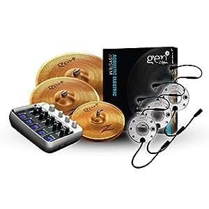 zildjian gen16 buffed bronze 14 18 20 cymbal set musical instruments. Black Bedroom Furniture Sets. Home Design Ideas