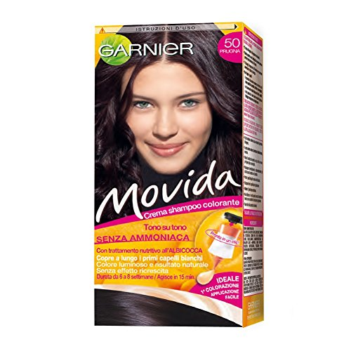 10 opinioni per Garnier Garnier Movida Crema Shampoo Colorante, 50 Prugna