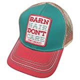 Farm Boy Brand Barn Hair Don't Care Tuquoise Youth Snapback Hat - F83088303TQ0ML