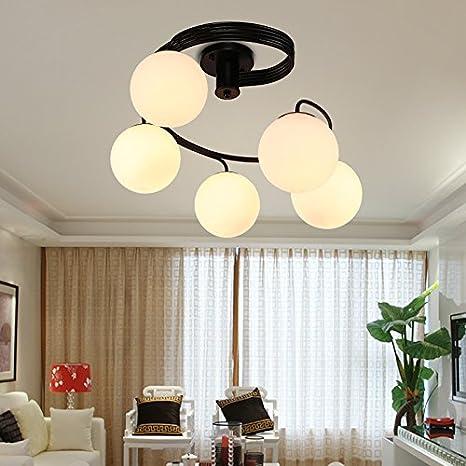 Hierro dormitorio salón lámpara luz romántica habitación ...