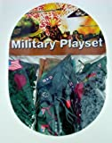: 'Mini' Plastic Army Men Military Playset ~ Over 250 Pieces! 22mm Figures (15/16 inch) and Vehicles! Near HO scale.