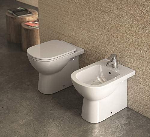 Ceramica Dolomite J523301 Gemma 2 Abattant WC en thermodur