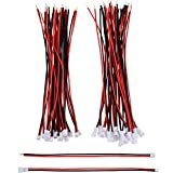 eBoot 20 Pairs 1.25 mm JST 2 Pin Micro Electrical