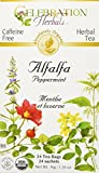 CELEBRATION HERBALS Alfalfa Peppermint Tea Organic 24 Bag, 0.02 Pound For Sale