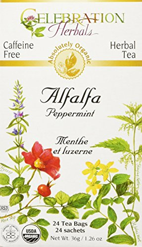 Celebration Herbals Organic Alfalfa Peppermint
