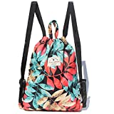 Forever cultivate Drawstring Bag Original Tote Bags Travel Gym Hiking School Beach (Upgrade) (B)