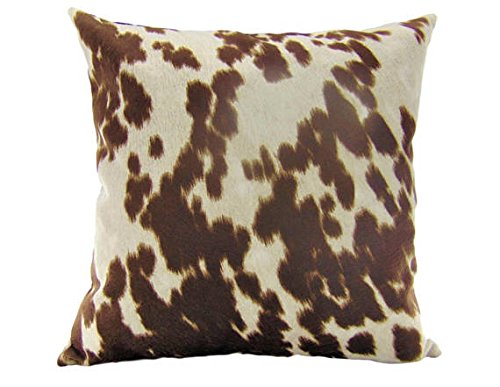 Luvfabrics Pillow Cover COW MADNESS Velvet Suede 18