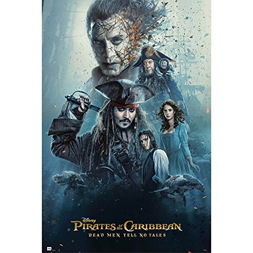 Grupo Erik editores- Poster Pirates of The Caribbean Dead Men Tell No Tales Cast