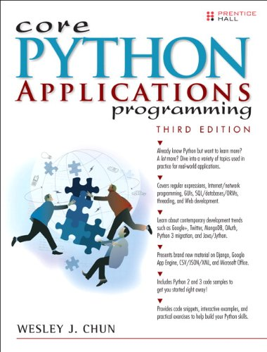 Book cover of Core Python Applications Programming by Wesley J Chun