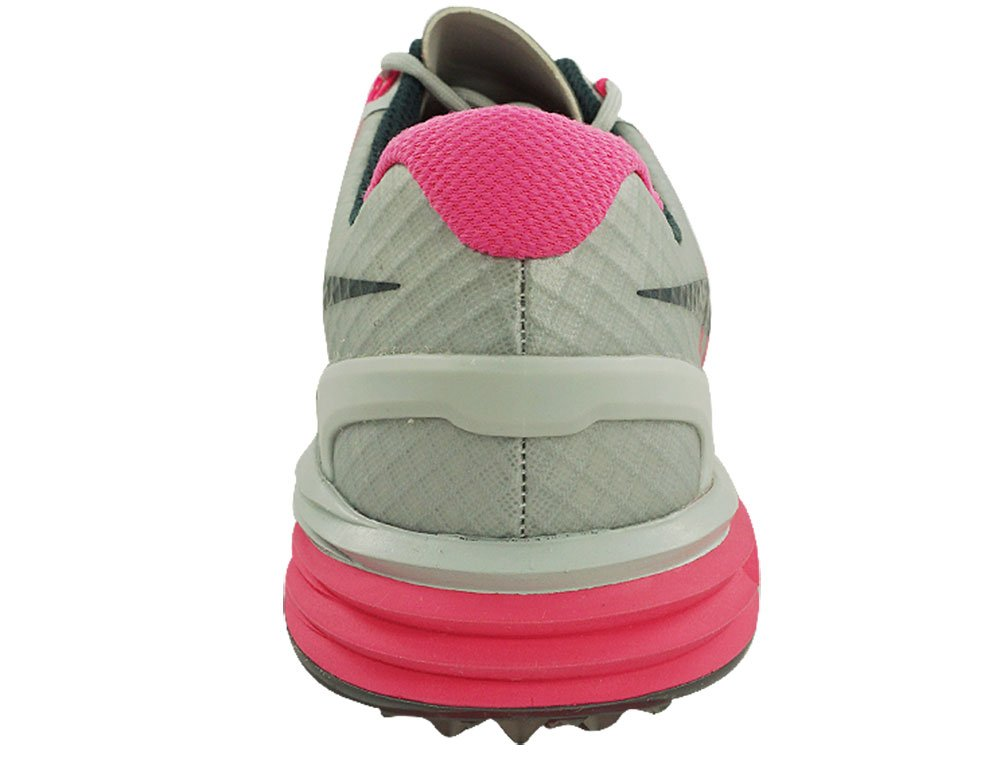 Nike Women's Lunar Control Golf Shoes (7, Pure Platinum/Pink Pow/Charcoal) by NIKE (Image #4)