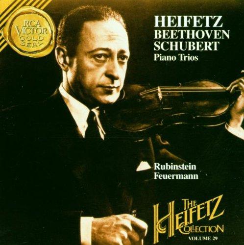 The Heifetz Collection, Vol. 29: Beethoven & Schubert- Piano Trios